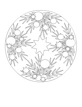 Christmas Ornament Coloring
