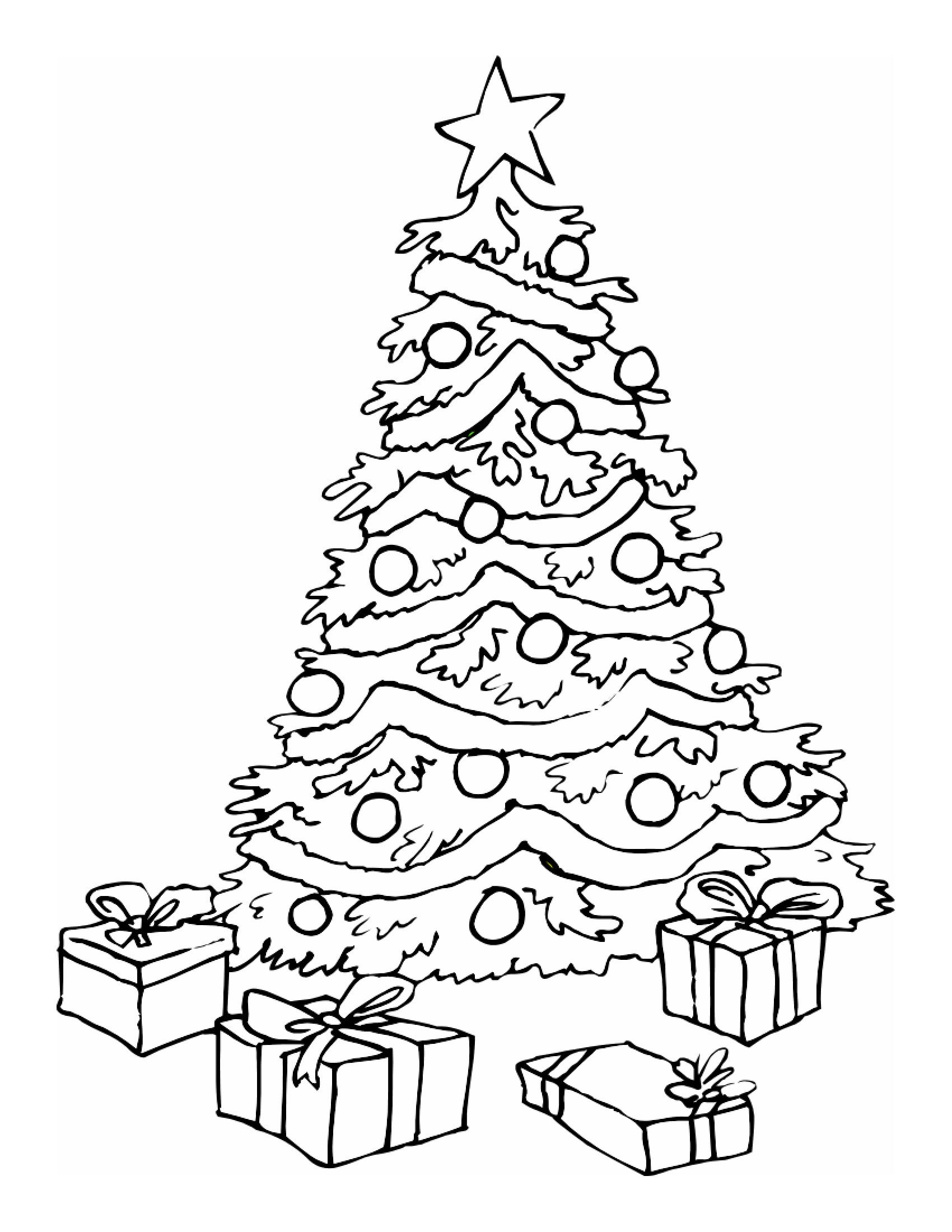 christmas crafts coloring pages - photo#32