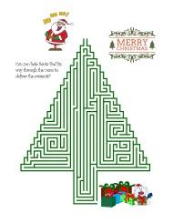 Santa Maze Easy