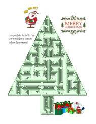 Santa Maze Hard